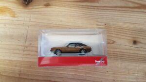 Herpa 430807 - 1/87 Ford Capri II Con Vinyldach, Braunmetallic - Nuovo