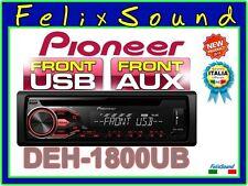 """PIONEER DEH-1800UB  SINTO/CD/MP3/USB + AUX  """" NUOVO Modello 2016 """""""
