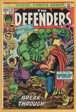Defenders #10 Marvel Comics 1973 Hulk VS Thor! VFNM