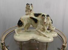 Figur Porzellan Windhund Barsois Cortendorf Form Nr.2009 Gruppe Pozellanfigur
