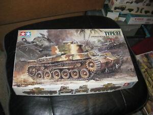 MIB Type 97 Japanese Medium Tank (Late Version) - Tamiya in 1/35 scale - 1987