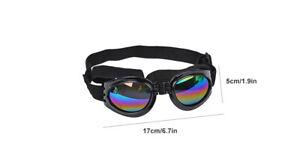 Dog Sunglasses Goggles Protection Against UV Wind Debris Waterproof Medium Large