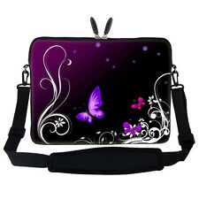 "17.3"" Laptop Computer Sleeve Case Bag w Hidden Handle & Shoulder Strap  2702"
