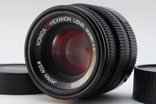 【AB- Exc】 Konica M-HEXANON 50mm f/2 MF Lens for Leica M Mount From JAPAN #2714
