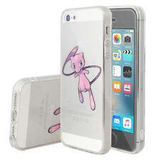 Coque Housse Silicone TPU Ultra-Fine POKEMON GO Mew Apple iPhone 5/ 5S/ 5SE/ SE