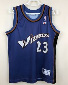 VINTAGE NBA WASHINGTON WIZARDS BASKETBALL SHIRT CHAMPION MICHAEL JORDAN #23