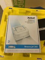 iRobot Braava jet 240 App Controlled Robot Mop - White (Parts or Not Working)