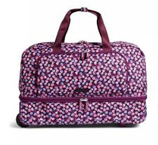 VERA BRADLEY Bag Berry Burst Wheeled Carry - On ( Model: 14508-189)