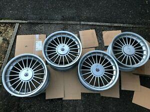 "Alpina genuine alloys from BMW E38 4 x softline 3611709 and 3611710 20"" wheels"