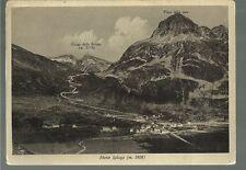 75829  madesimo  sondrio vecchia cartolina di monte spluga