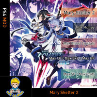 Mary Skelter 2 (PS4 Mod) -Max Jewels/ Renown/Items/EXP/Growth Points