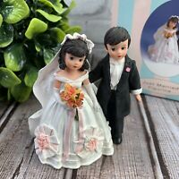 """Madame Alexander Just Married Figurine 4""""  Resin Doll 2001 Numbered Edition"""
