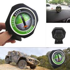 Car SUV Truck Outdoor Travel Angle Tilt Indicator Slope Meter Gauge w/ LED Light
