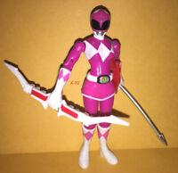 POWER RANGERS figure PINK RANGER toy FEMALE sentai bandai AMY JO JOHNSON