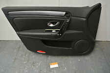 RENAULT LAGUNA MK3 2008 - 2012 PASSENGER SIDE FRONT DOOR CARD DYNAMIQUE  TOM TOM