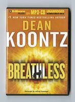 Breathless: by Dean Koontz:  MP3CD Audiobook
