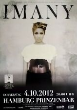 IMANY - 2012 - Konzertplakat - Shape of a broken Heart - Tourposter - Hamburg