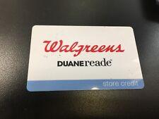 WALGREENS DUANE READE STORE CREDIT GIFT CARD $38.10