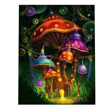 DIY Mushroom Full Drill 5D Diamond Painting Embroidery Cross Crafts Stitch