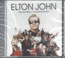 CD ♫ Compact disc ELTON JOHN ♪ ROCKET MAN ♪ THE DEFINITIVE HITS nuovo sigillato