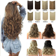 THICK Hidden Hair Invisible Wire in Hair Extensions Secret Headband As Human AAA