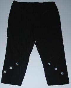 TS Taking Shape pull on elastic waist legging pants Size 14