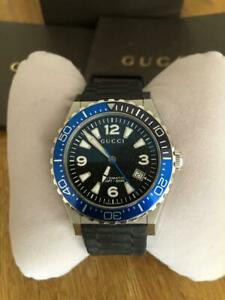 Mens Gucci King Union Watch Automatic ** BOX & PAPERS