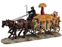 "RARE RETIRED Lemax Spooky Town ""Haunted Hayride"" Exclusive Halloween NIB Reaper"