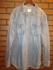 Denim Shirt Light Blue Old Navy Size M