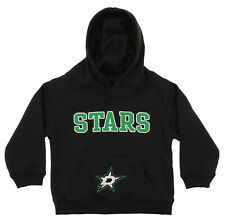 OuterStuff NHL Infant and Toddler's Dallas Stars Fleece Hoodie, Black