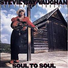 STEVIE RAY VAUGHAN & DOUBLE TROUBLE-SOUL TO SOUL-JAPAN CD BONUS TRACK Ltd/Ed B63