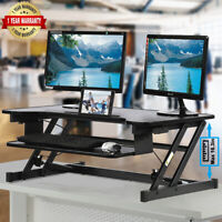 Ergonomic Height Adjustable Standing Desk Sit to Stand Desk Desk Top Desk Riser