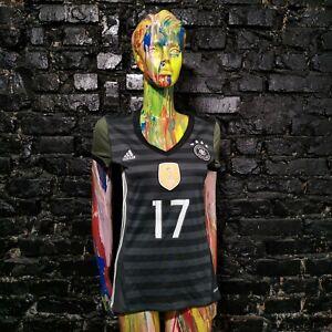 Boateng Germany Team Jersey Away shirt 2016 - 2017 Adidas AA0113 Woman Size S