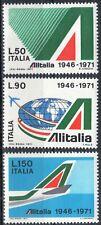 1971 italia repubblica Alitalia MNH