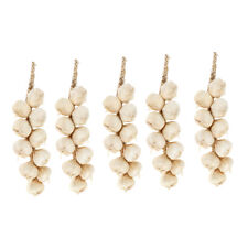 1:12 SCALA stringa di aglio bulbi tumdee casa delle bambole CIBO VEGETALE Cafe cucina
