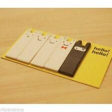 Ninja Animal Lindo Novedad Nota Adhesiva Conejito Memo guía de revisión de estudio de examen de Hello