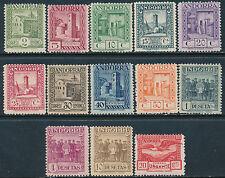 Andorra - Correo- Año: 1929 - numero 00015/27 - Paisajes cifra al dorso dent.