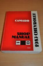 Werkstatthandbuch Chevrolet 1983 Camaro Shop Manual 2,5 L4 2,8 V6 5,0 V8 Engine