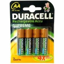 12 duracell aa rechargeables piles 2450 mah 2450mAh 1.2V nimh neuf emballage scellé