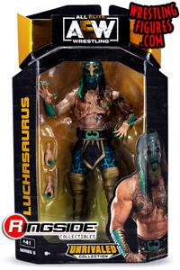 AEW Luchasaurus Unrivaled Series 5 - Brand New Figure - In Stock - WWE