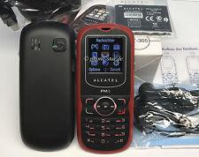ALCATEL ONETOUCH OT-305 HANDY SIMLOCKFREI DUAL-BAND MP3 RADIO KAMERA NEW NEU OVP