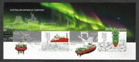 Australian Antarctic Territory-IMPERF-2020 Scarce-Nuyina M/Sheet-3750 print-mnh