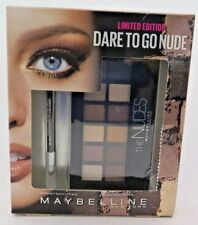 Maybelline Dare To Go Nude-The NUDES-Eyeshadow + Line Express Eyeliner New