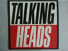 Rare Talking Heads True Stories 1986 Vintage Original Music Store Promo Poster