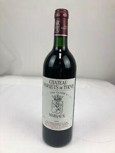 62) CHATEAU MARQUIS DE TERME 1994 Margaux GRAND CRU CLASSÉ 0,75L BORDEAUX