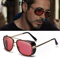 Iron Man 3 Matsuda Tony Stark Sunglasses for Men Rossi Coating Super Hero Gothic