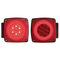 Optronics Boat/Utility Trailer Red Led Glolight Combination Tail Light Kit