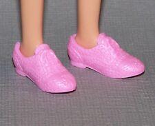 Barbie Doll Shoes Fashionista Evolution Original & Petite Pink Oxfords