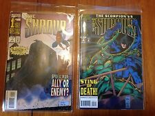 The Shroud Spider-Man mini series of 4 issues March 1994