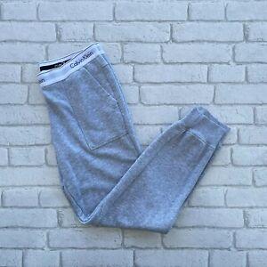 Calvin Klein Sleepwear Pants Sweatpants Joggers Medium M - Grey - Pyjama Bottoms